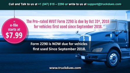 what is 2290 tax efile? | Truck Tax Dues